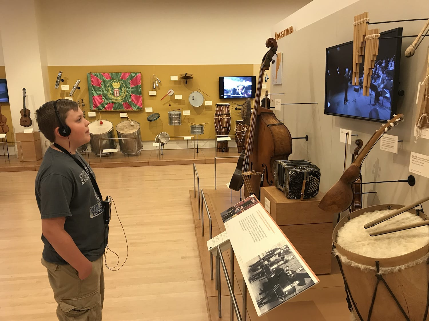 Audio Tour Musical Instrument Museum