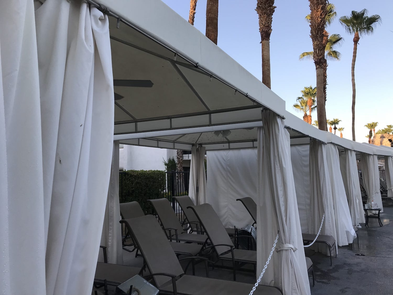 Rent a Cabana at Omni Resort & Spa