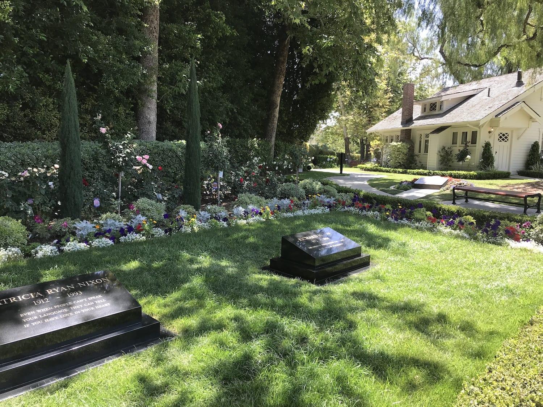 President Nixon's Memorial Grave California