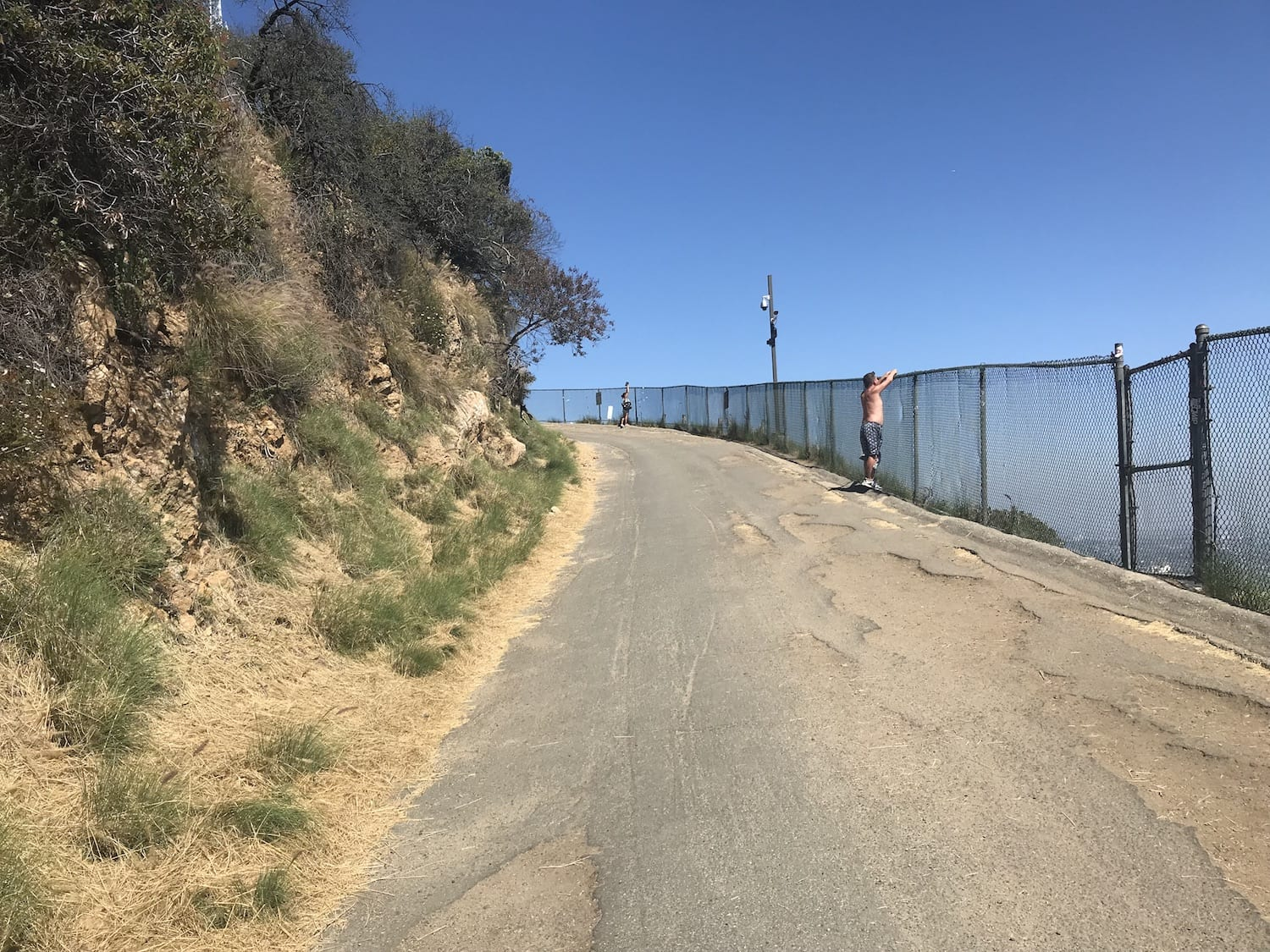 path to the top of Hollywood Sign