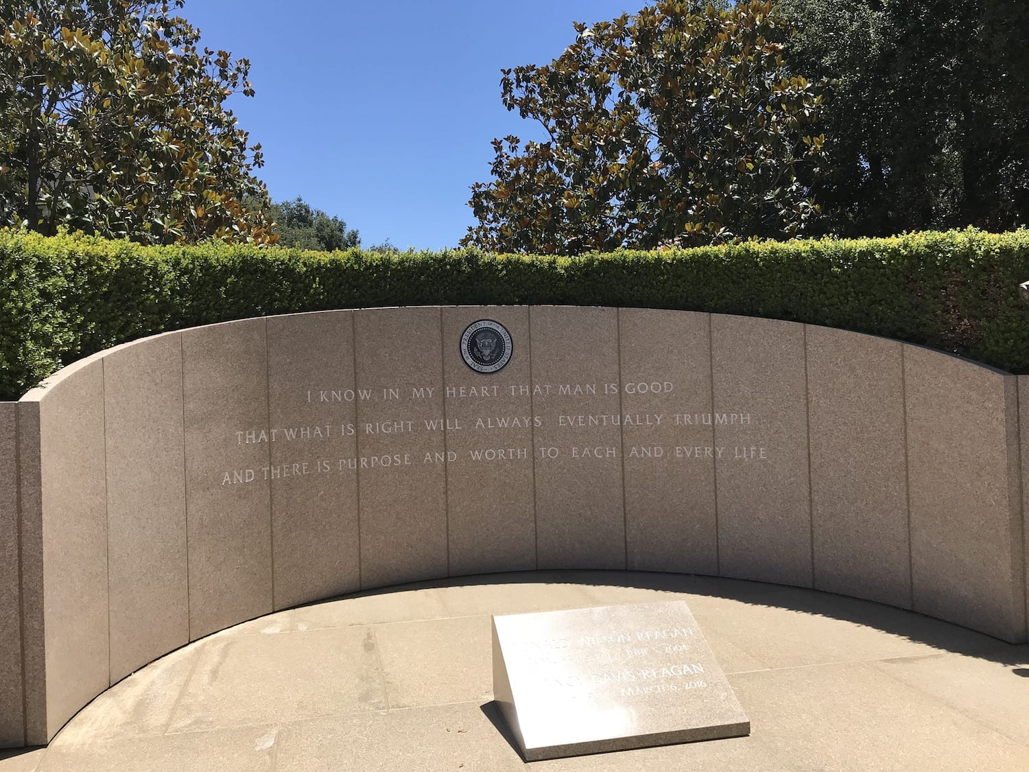 President Reagan and First Lady Memorial Site