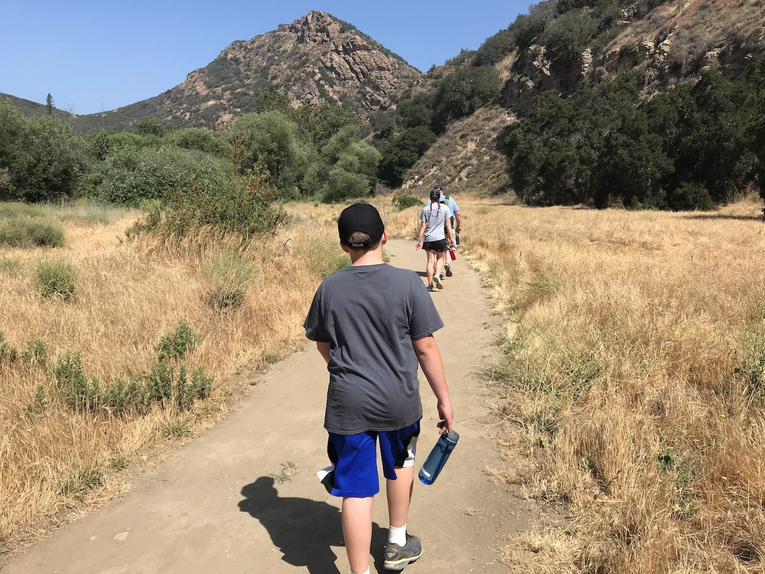 Hiking at Malibu Creek State Park