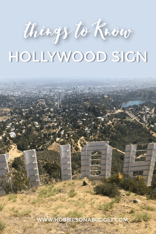 THINGS to know Hollywood sign
