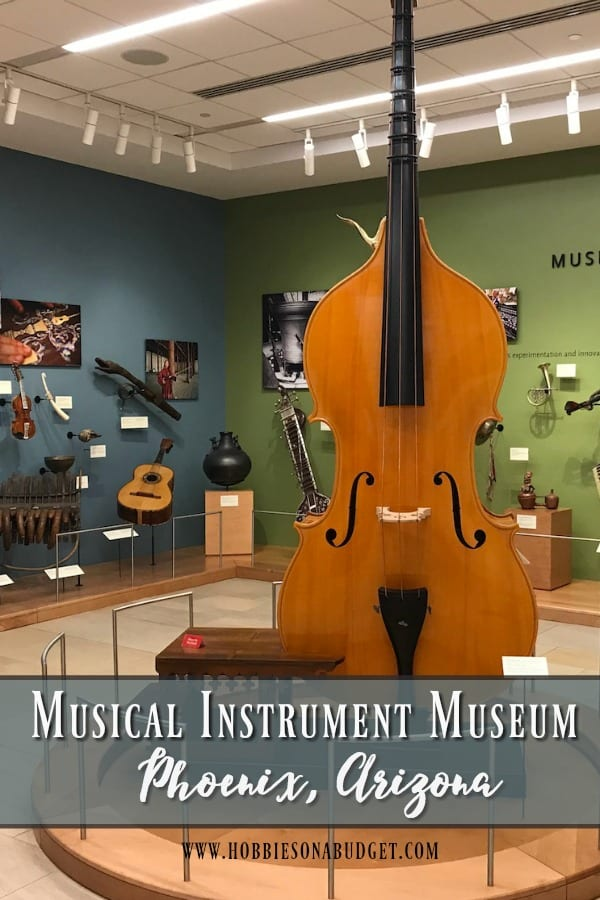 The Musical Instrument Museum (MIM) in Phoenix, Arizona  houses 15,000 musical instruments and includes examples from nearly 200 countries and territories, and covers approximately 200,000 square-feet, with two floors of galleries.  This place is a must see destination for all ages! #Music #museum #Arizona #Phoenix