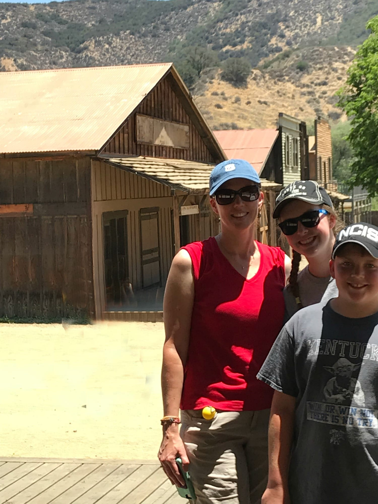paramount ranch sharon and kids