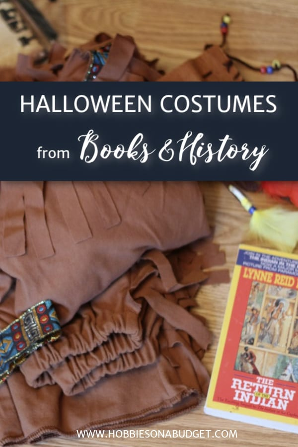 HALLOWEEN COSTUMES FROM BOOKS AND HISTORY