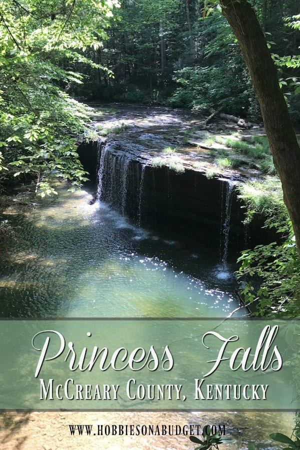 Princess Falls in McCreary County Kentucky