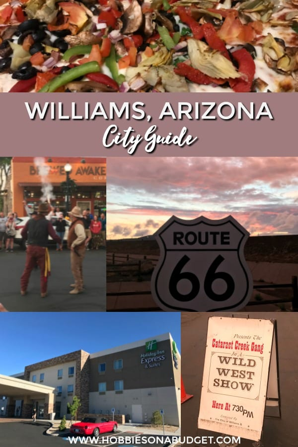 WILLIAMS ARIZONA CITY GUIDE
