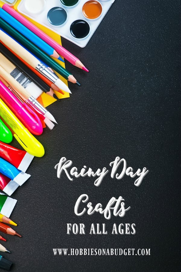 Crafts for All Ages on Rainy Days