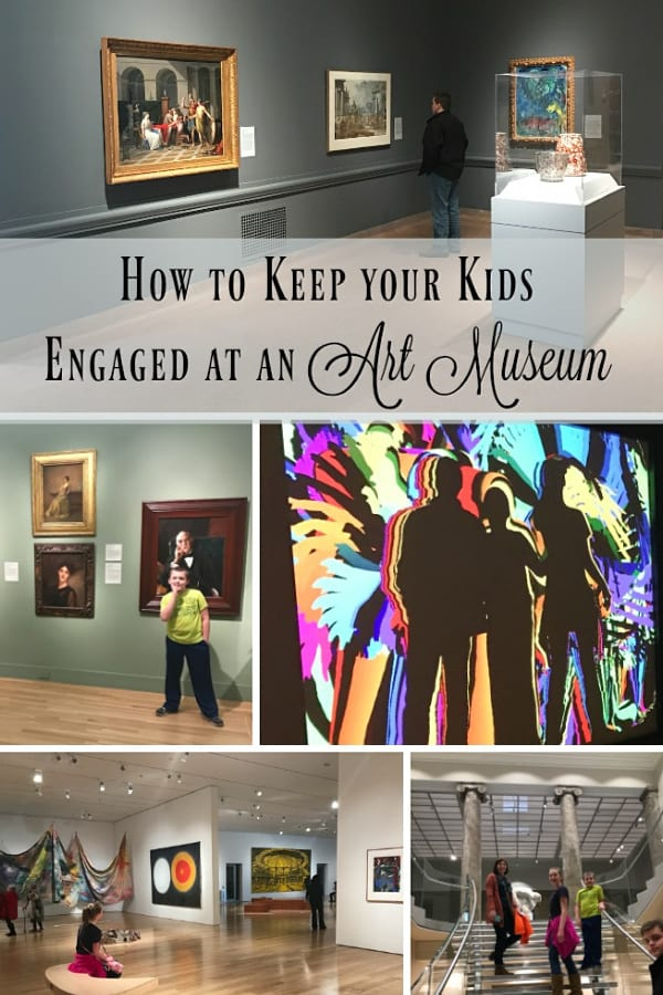 When is the last time you visited an art museum with your family? We've taken the kids to several art museums and every time it's a brand new experience. Not sure if your kids are ready for an art museum? Take a look at these tips to keep your kids engaged on your next visit!