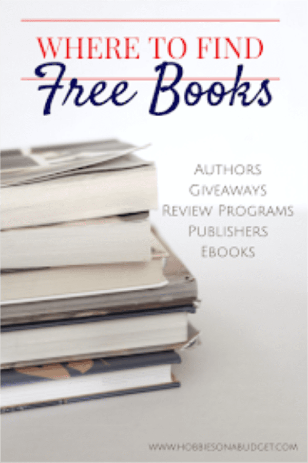 If you love books, but don't want to pay the full price, there are many options for finding free books for those that are willing to spend some time looking in the right places. Here are some of my favorite ways to find FREE Books!