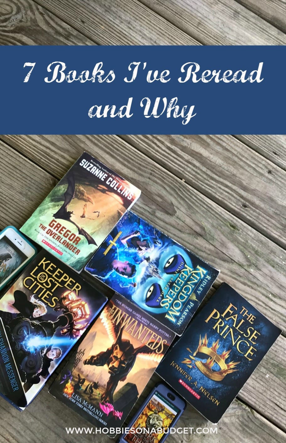 7 BOOKS I'VE REREAD AND WHY