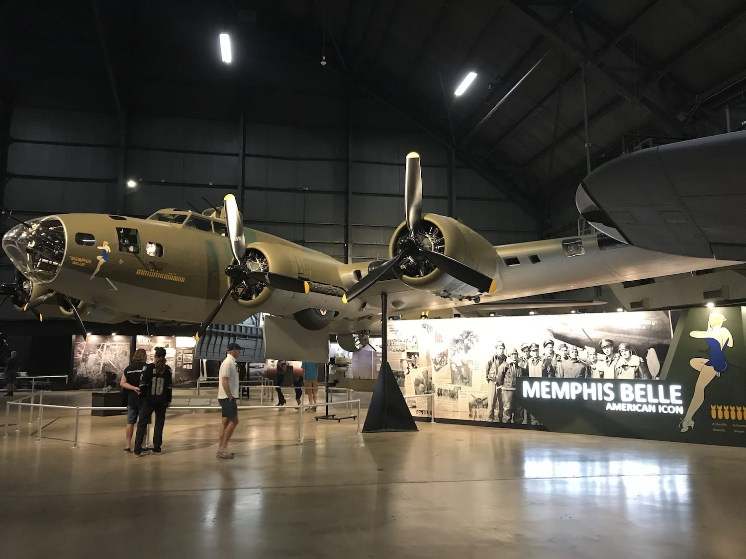 Memphis Belle at the National Museum of the USAF