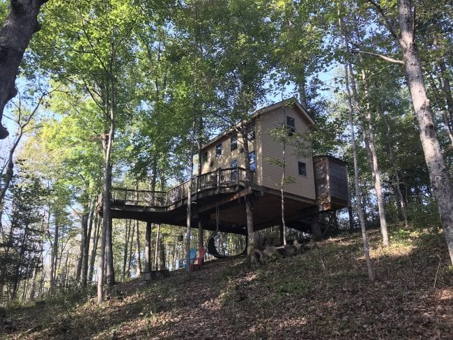 Pete Nelson Treehouse Adventure