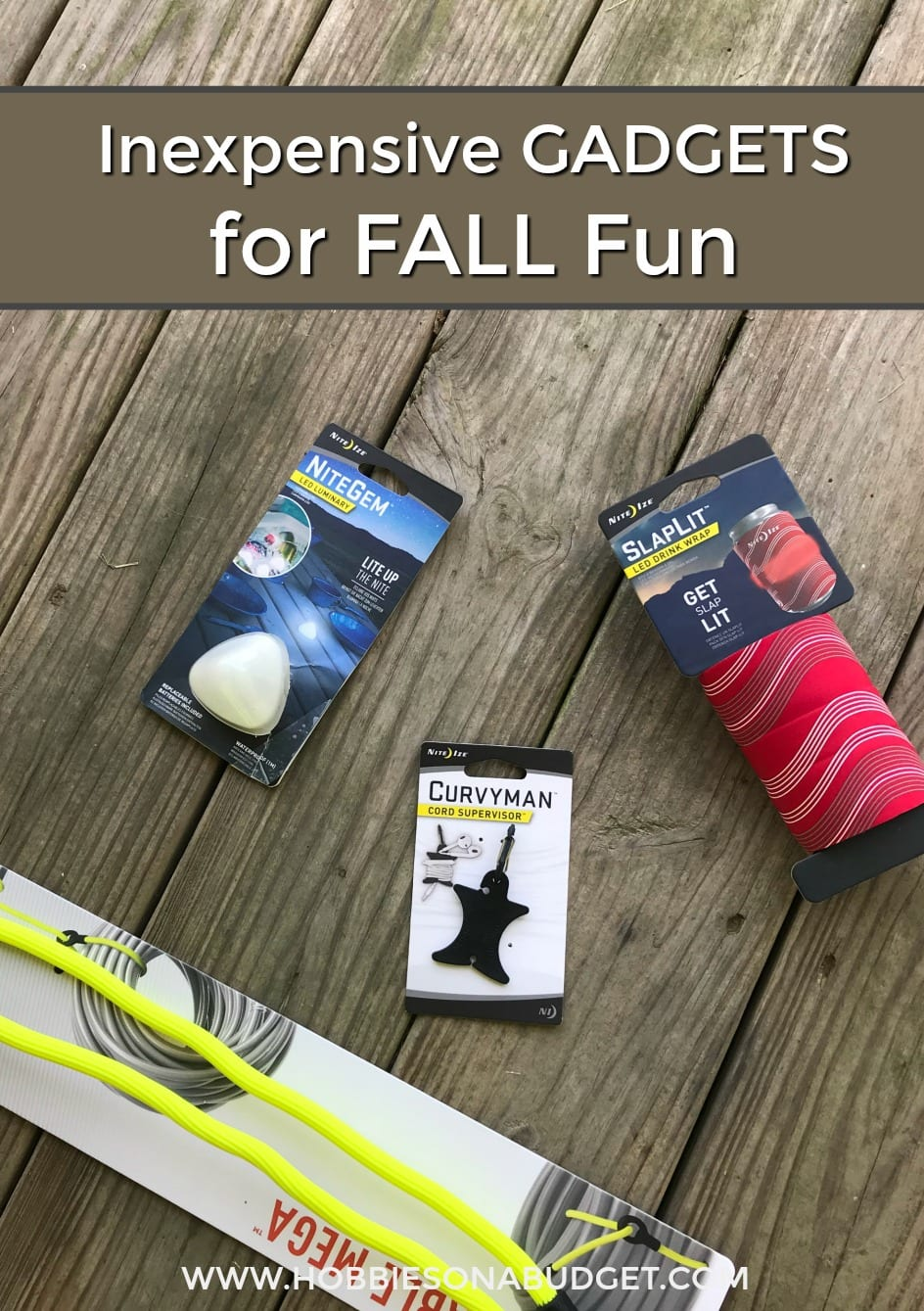 Inexpensive Gadgets for Fall Fun
