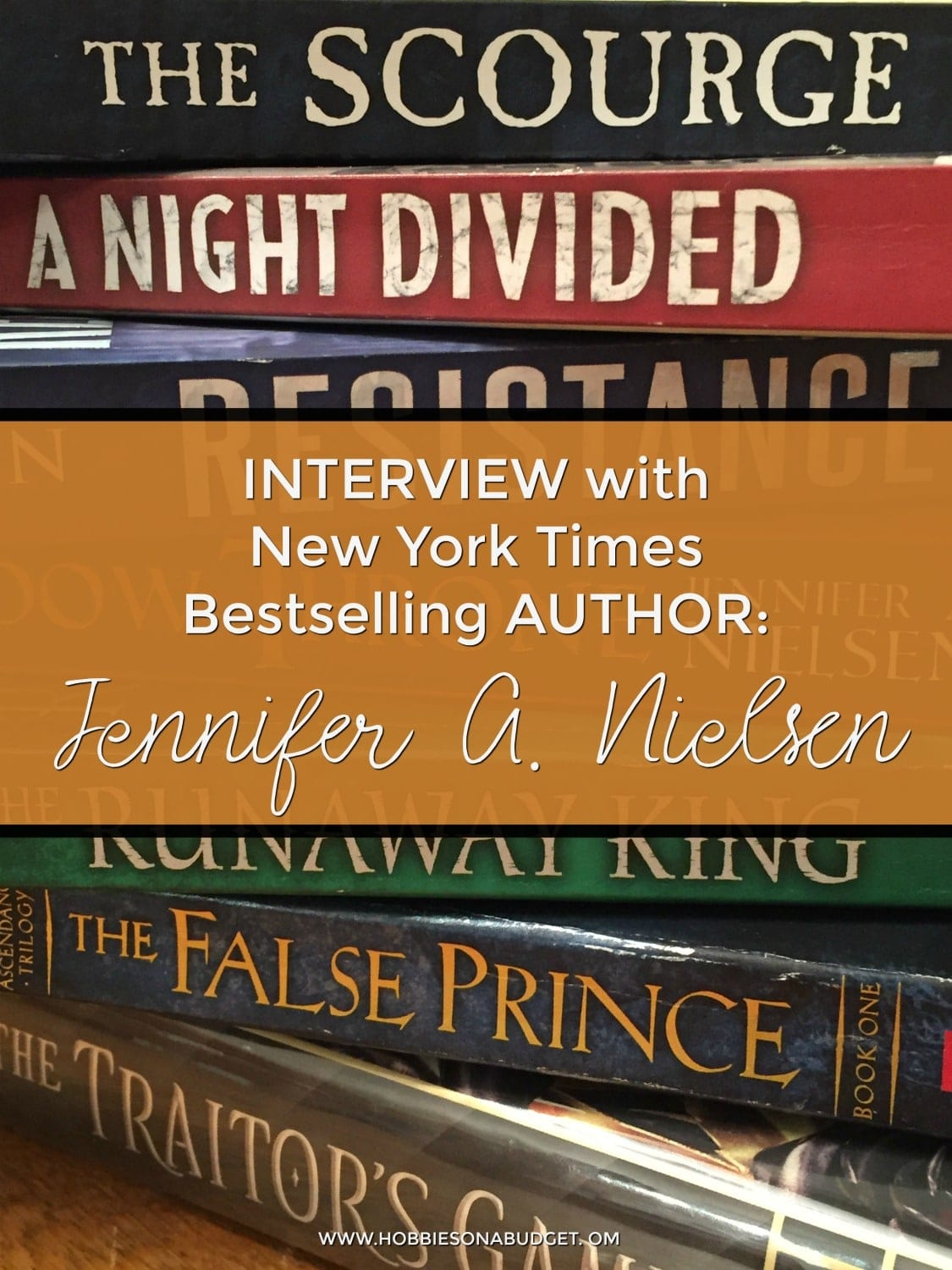 Interview with New York Times Bestselling Author