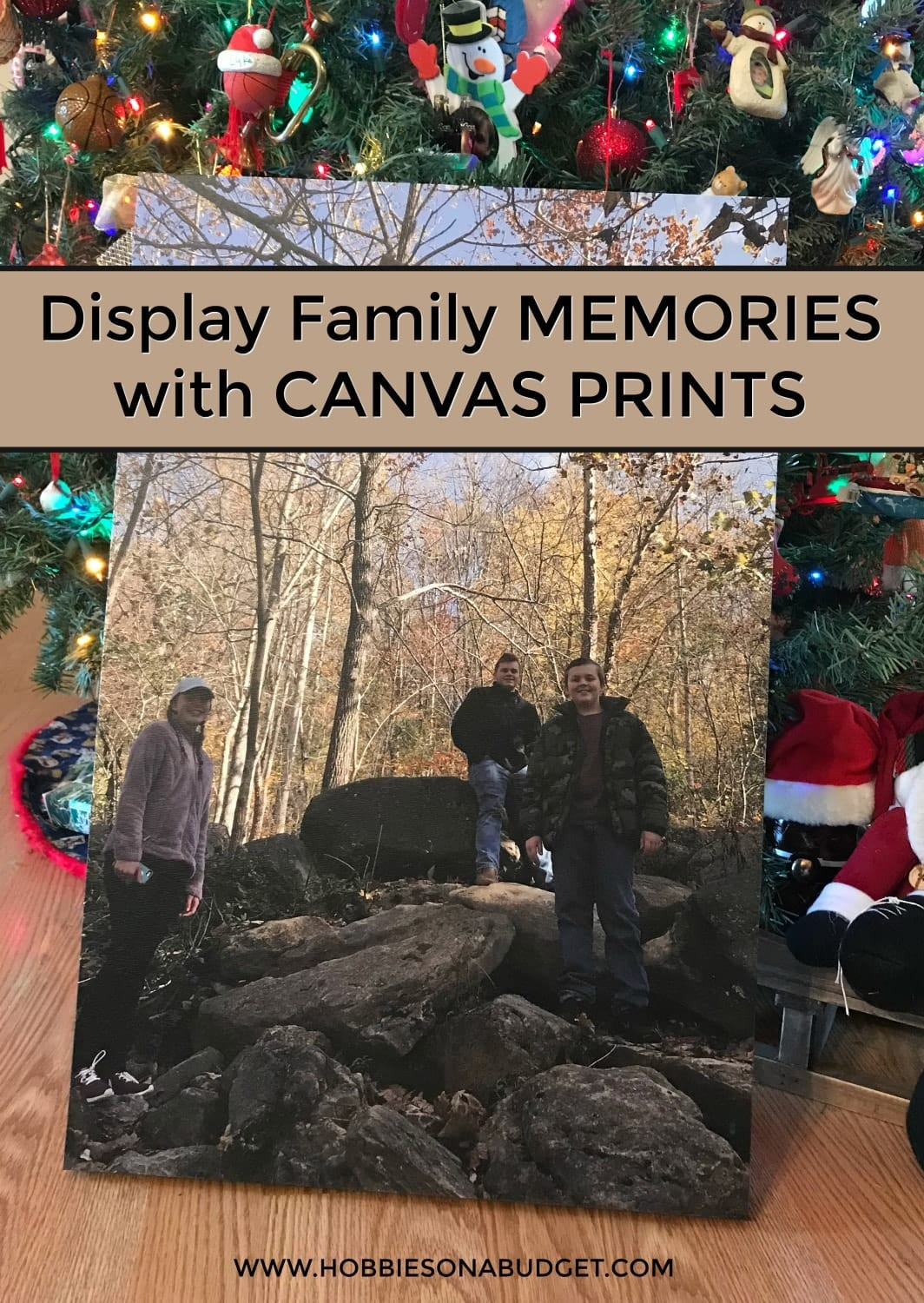 Display Family Memories with CANVAS PRINTS