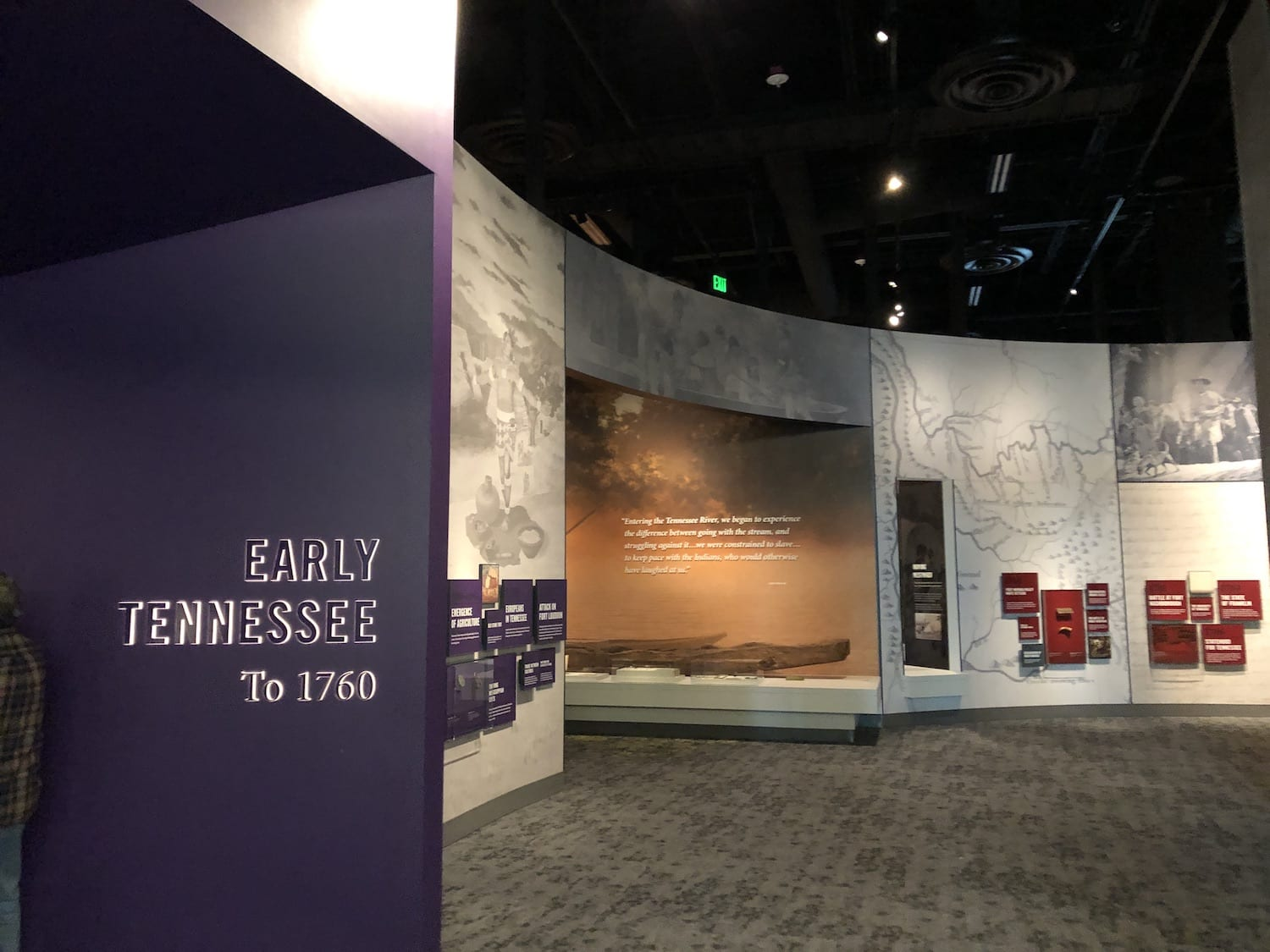 Tennesee State Museum Early Tennessee History