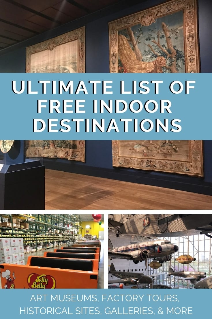 Ultimate List of Free Indoor Destinations (1)