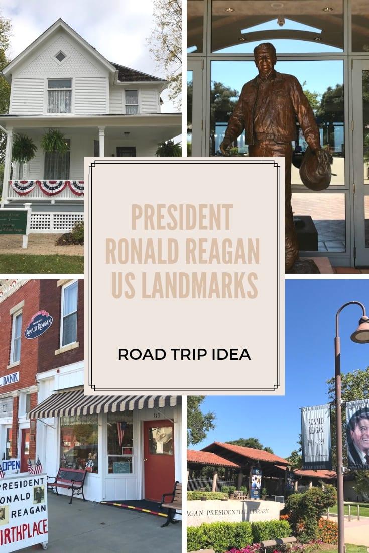 Ronald Reagan US Landmarks