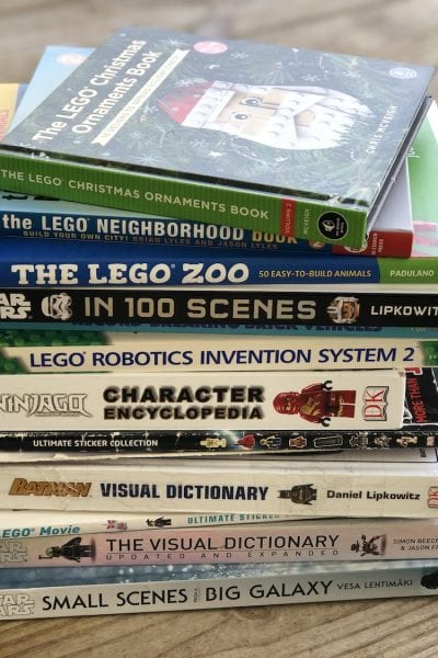 LEGO Books for every fan