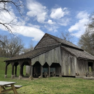 old barn at Norris Dam