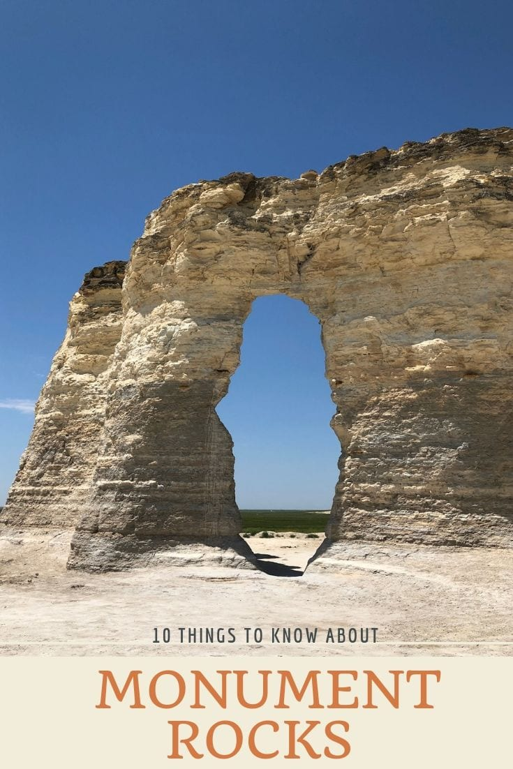 10 Things to Know Monument Rocks, Kansas - Hobbies on a Budget