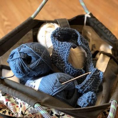 Crocheting the Chevron Afghan