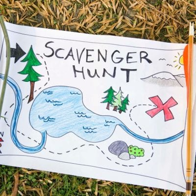How to Create a Home Scavenger Hunt