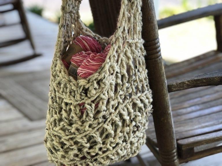 Easy Crochet Slouch Bag