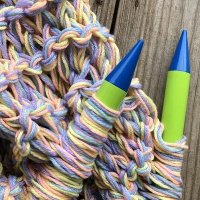 How to Knit with Jumbo Needles