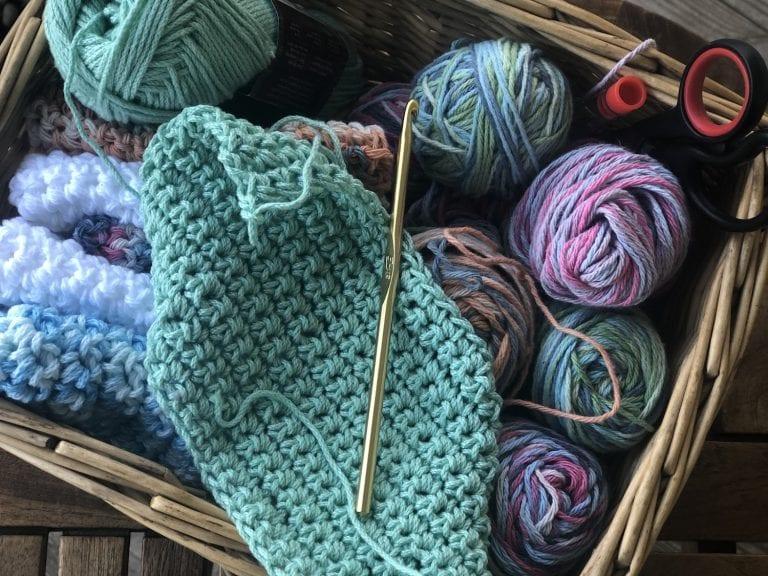 Easy Crochet Washcloths Gift Ideas