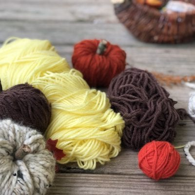 Yarn Projects for Fall (No Crochet Required)