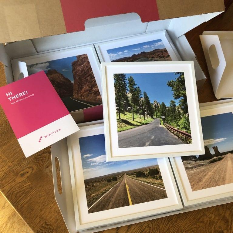 Travel Memory Photos with Mixtiles