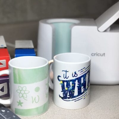 Beginners Guide to the Cricut Mug Press