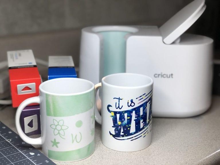Beginners Guide to the Cricut Mug Press