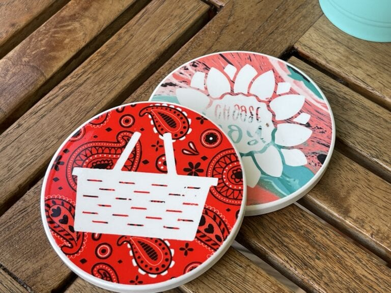 Infusible Ink Coaster Gift Ideas