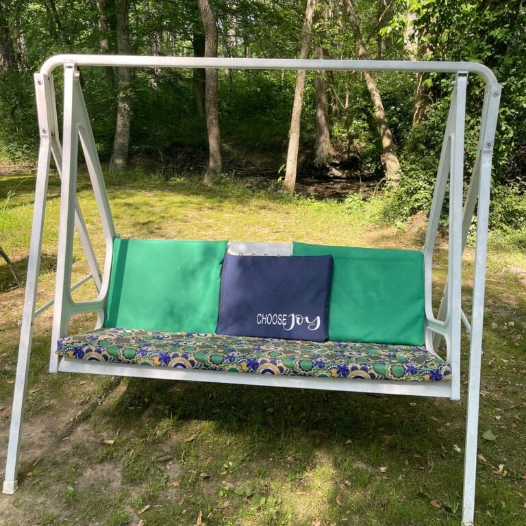 Easy No Sew Outdoor Furniture Cushions