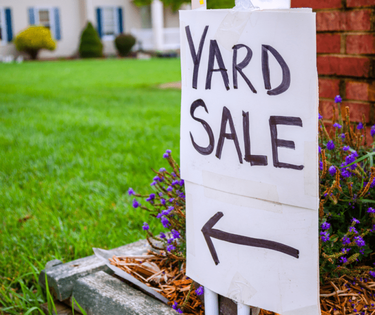 7 Tips for Yard Sale Success