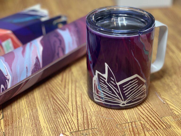One More Chapter Mug Press Gift Idea
