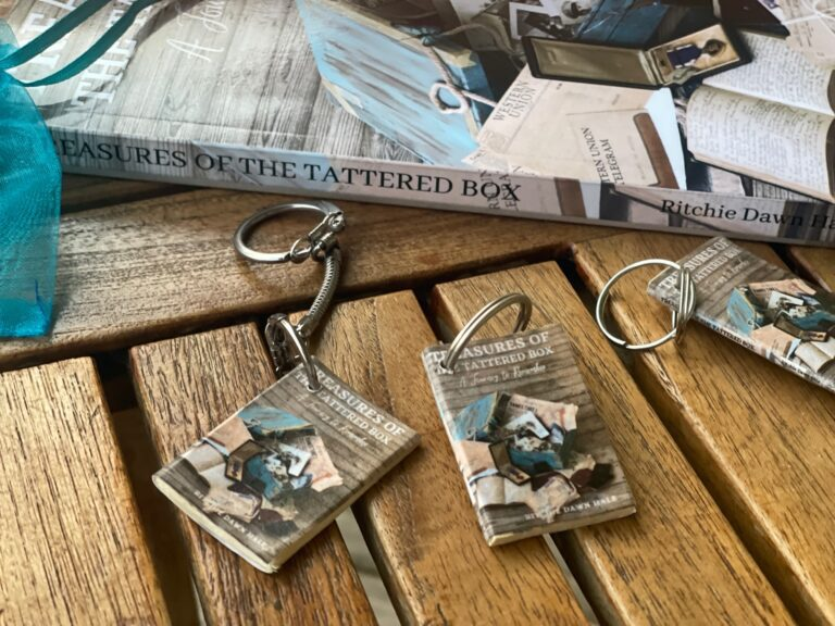 DIY Miniature Book Keychains & Magnets
