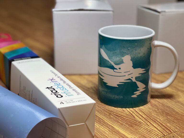 """I'd Rather Be In My Kayak"" Mug Press Gift Idea"