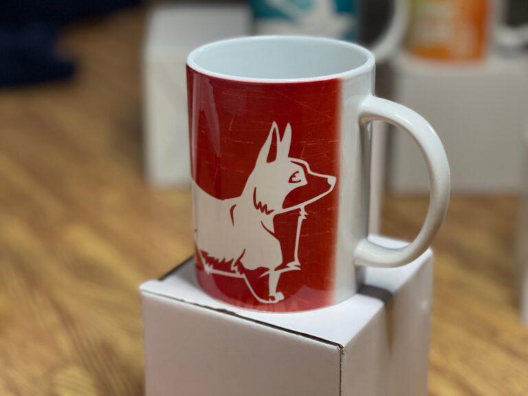 """Corgi Love"" Mug Press Gift Idea"