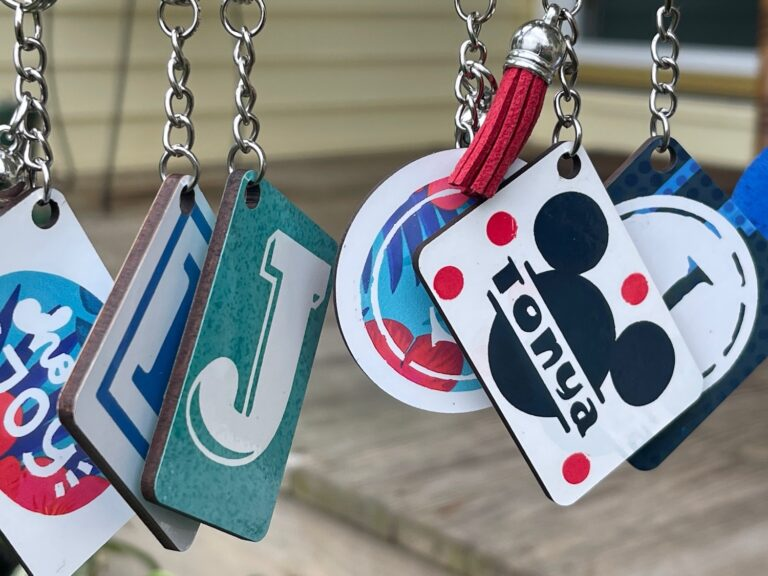 Infusible Ink Keychains & Zipper Pulls